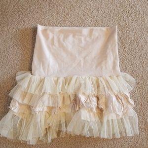 free people FP one mini tulle skirt